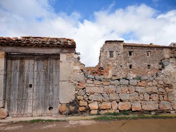 Casa bombardeada en Lidón
